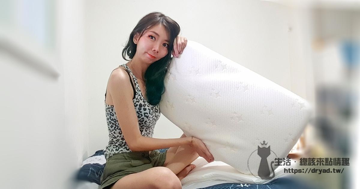高枕無憂一覺好眠 | LoveFu 樂眠 樂眠枕(一枕雙向躺)